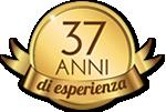 37 anni di esperienza